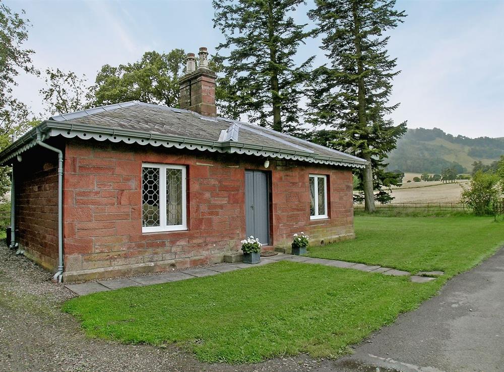 Exterior at Glenearn Lodge in Bridge of Earn, Perthshire., Great Britain