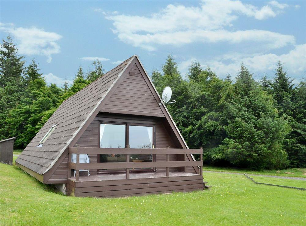 Well-appointed detached lodge in the heart of Speyside at Glenlivet View in Glenlivet, near Dufftown, Highlands, Banffshire