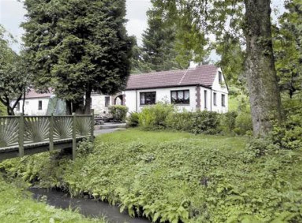 Exterior at Glenmill Cottage in Glenmavis, near Glasgow, Lanarkshire