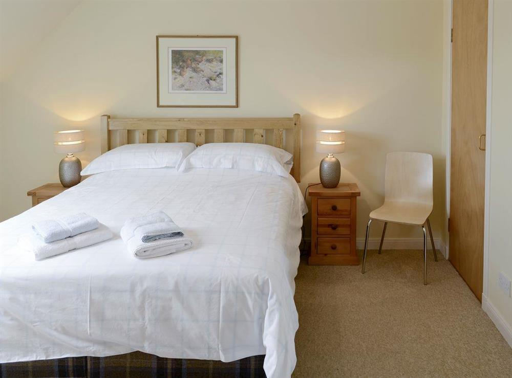 Comfortable double bedroom at Birch Cottage,