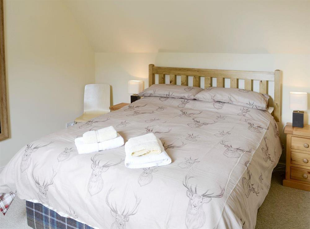 Comfortable double bedroom at Rowan Cottage,