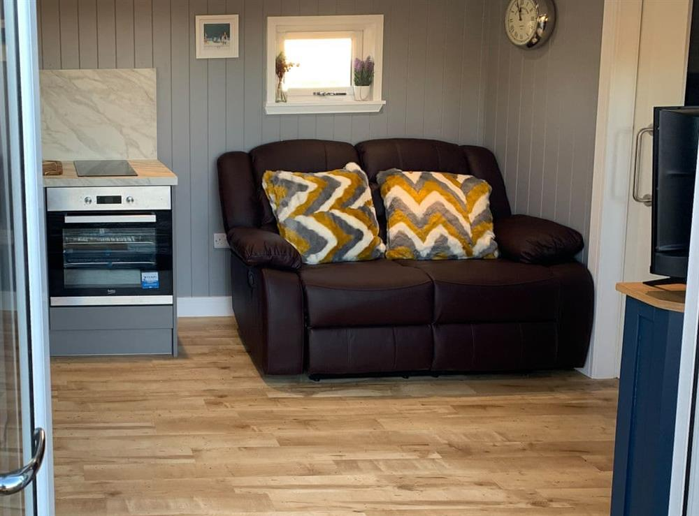 Living area at The Shepherds Hut,
