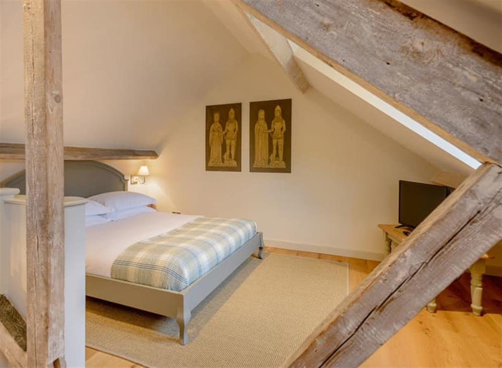Double bedroom at Gold Hill Cottage in Shaftesbury, England