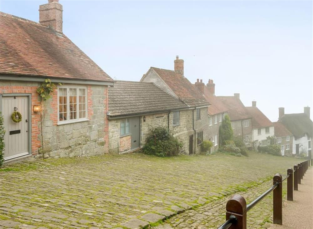 Exterior at Gold Hill Cottage in Shaftesbury, England
