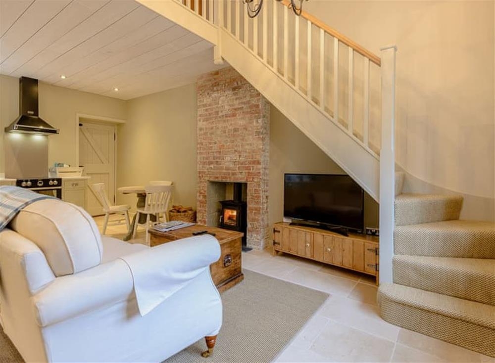 Open plan living space (photo 5) at Gold Hill Cottage in Shaftesbury, England