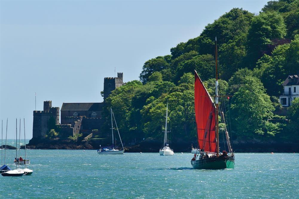 Dartmouth Castle from the river at Gooder House in , Dartmouth