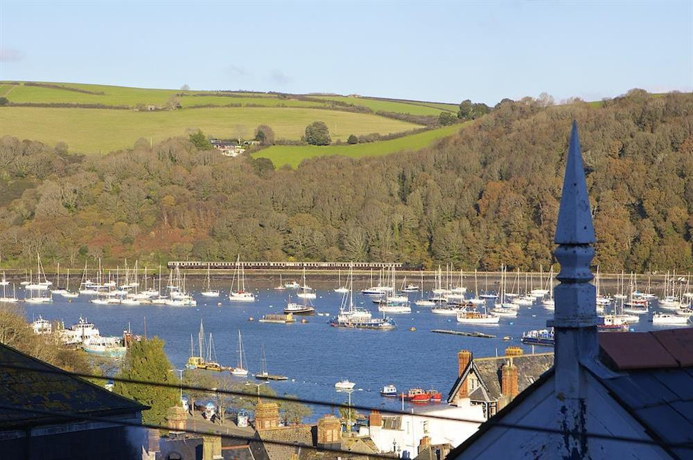 View from sitting room at Gooder House in , Dartmouth
