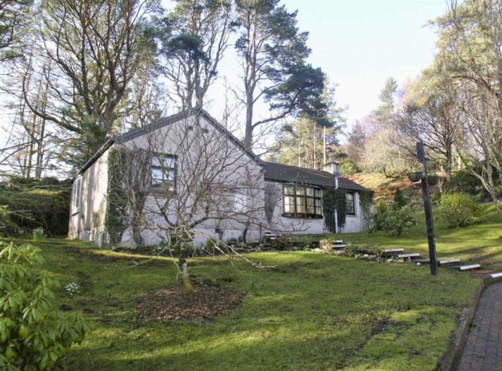 Exterior at Goose Cottage in Oban, Argyll., Great Britain