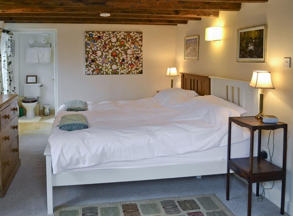Bedroom at Granary Cottage in Diptford, Devon