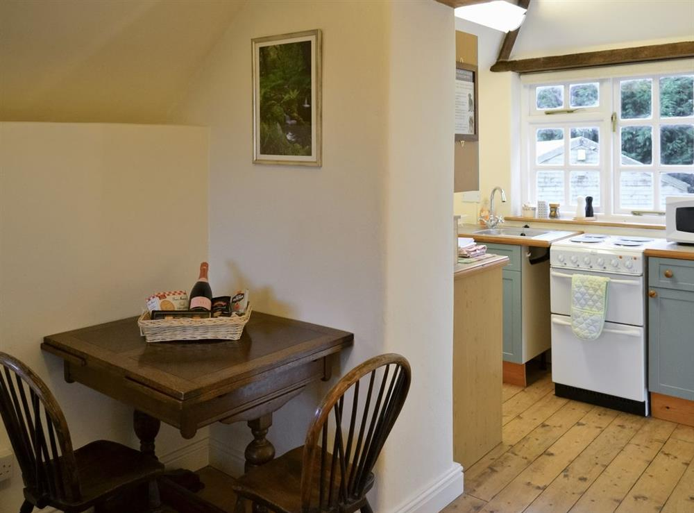 Dining Area at Granary Cottage in Diptford, Devon