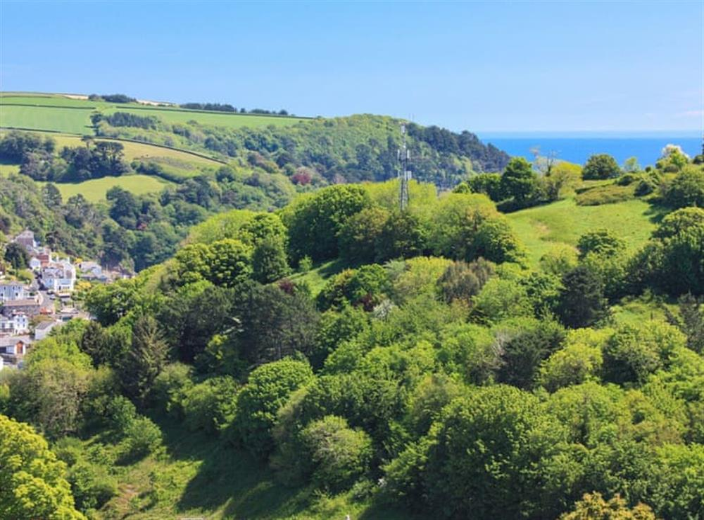 Lovely views towards the coast at Grandview Dartmouth in Dartmouth, Devon