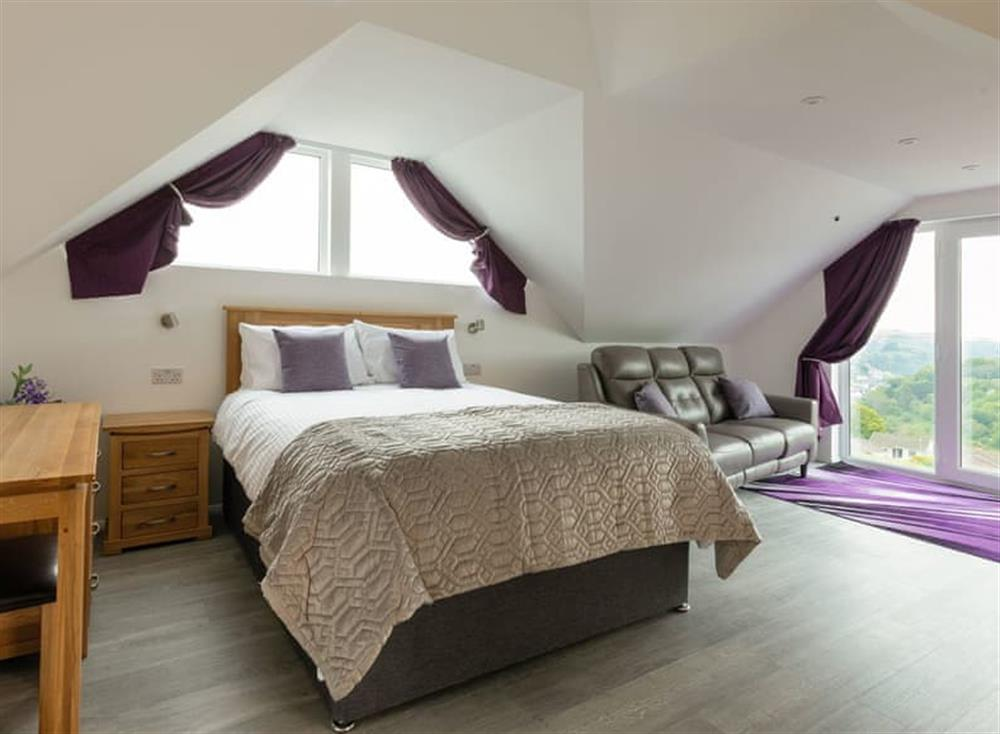 Relaxing double bedroom at Grandview Dartmouth in Dartmouth, Devon
