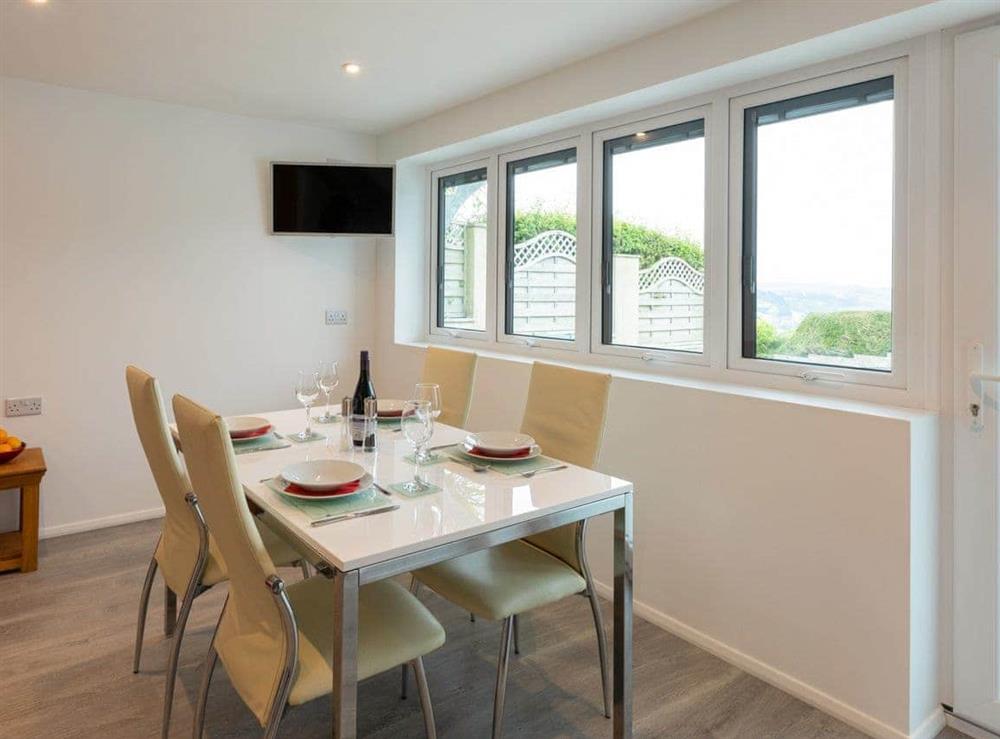 Stylish dining area at Grandview Dartmouth in Dartmouth, Devon
