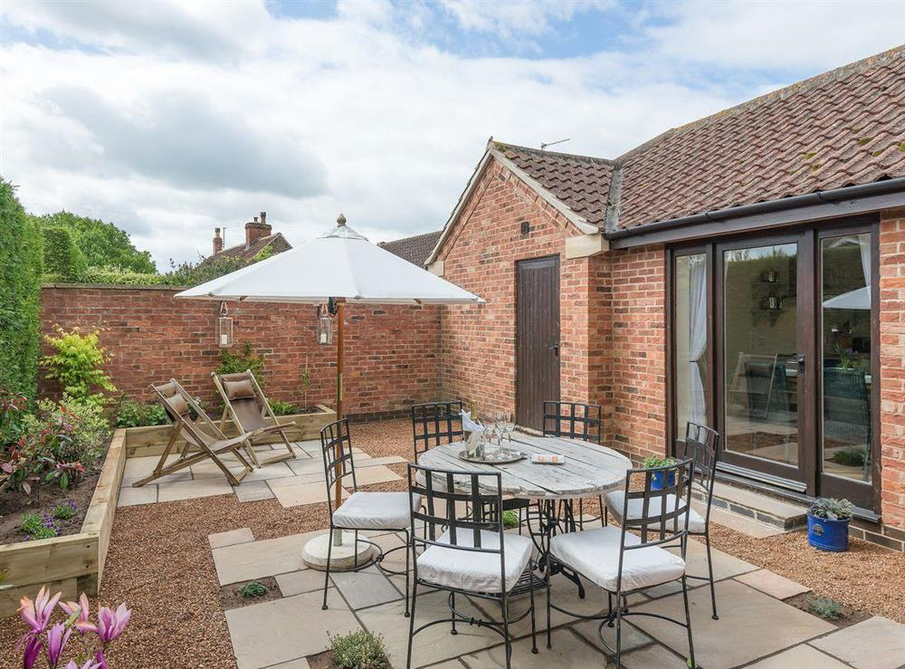 Outdoor living space (photo 2) at Grange Croft in Wymondham, near Oakham, Leicestershire, Norfolk