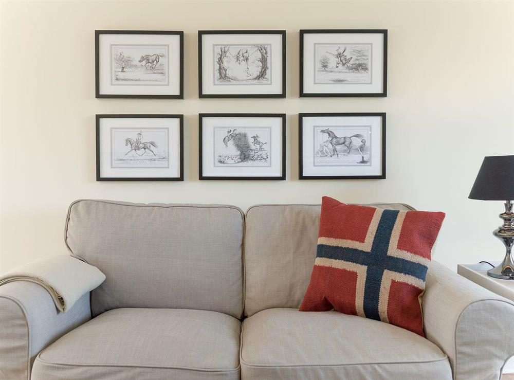 Relaxing living space at Grange Croft in Wymondham, near Oakham, Leicestershire, Norfolk