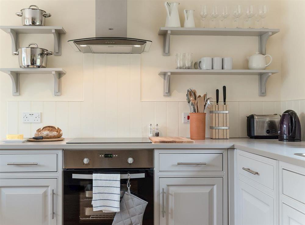 Well equipped kitchen at Grange Croft in Wymondham, near Oakham, Leicestershire, Norfolk