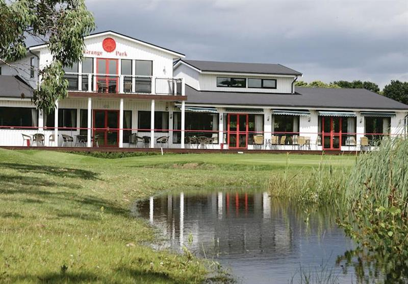 Clubhouse at Grange Park Lodges in Messingham, Lincolnshire