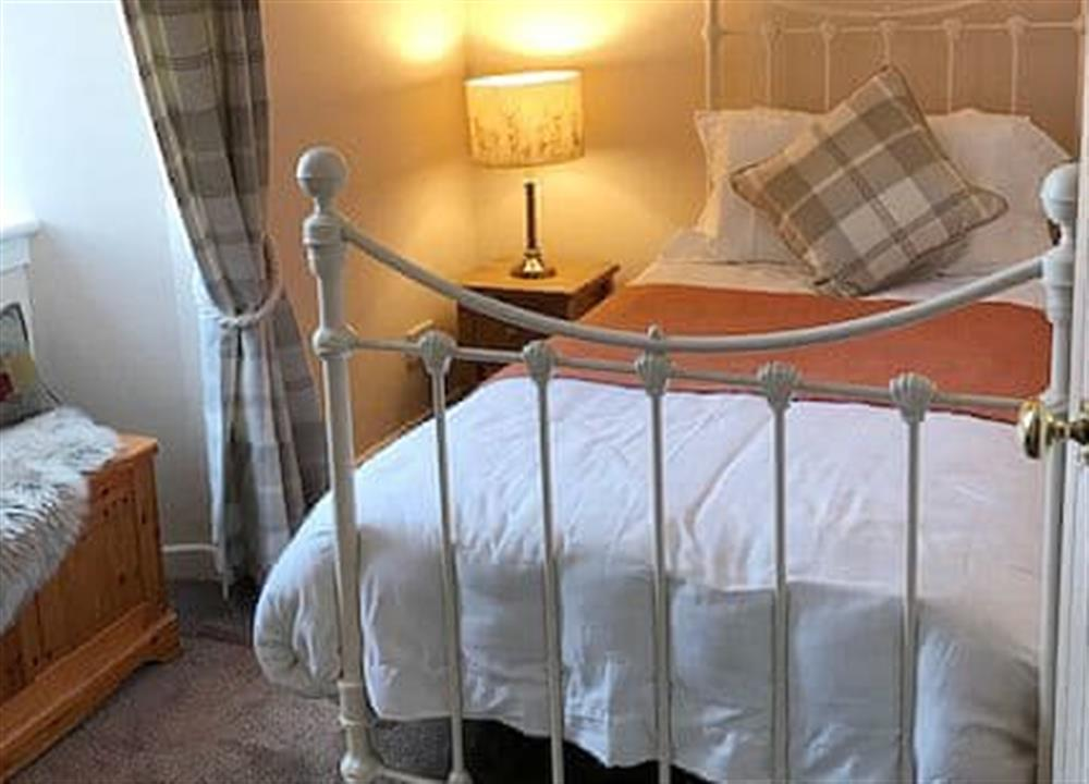Double bedroom at Grannys Cottage in Achnairn, near Lairg, Sutherland
