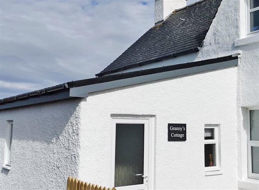 Exterior at Grannys Cottage in Achnairn, near Lairg, Sutherland