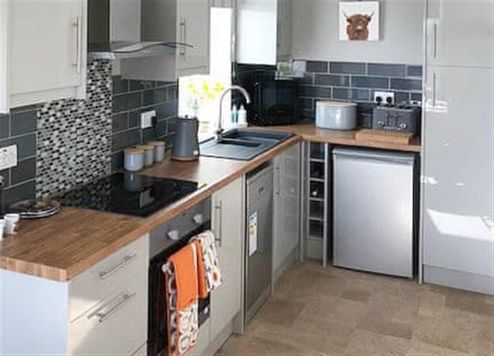 Kitchen/diner (photo 2) at Grannys Cottage in Achnairn, near Lairg, Sutherland