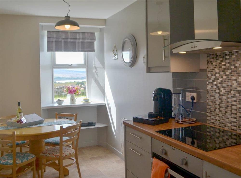 Kitchen/diner at Grannys Cottage in Achnairn, near Lairg, Sutherland