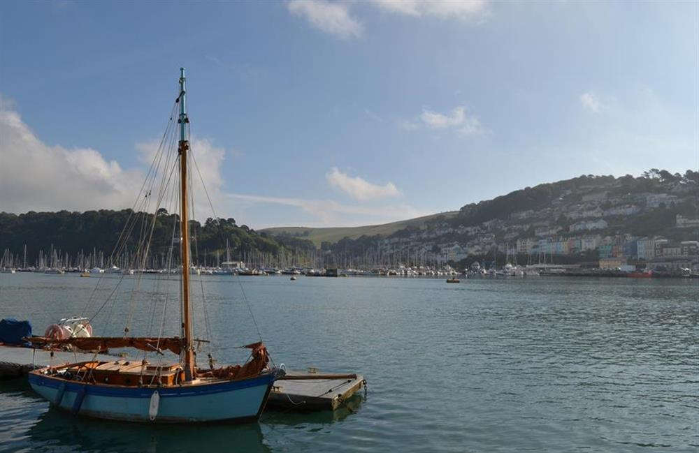 A view across the River Dart towards Kingswear at Grants Cottage, Dartmouth