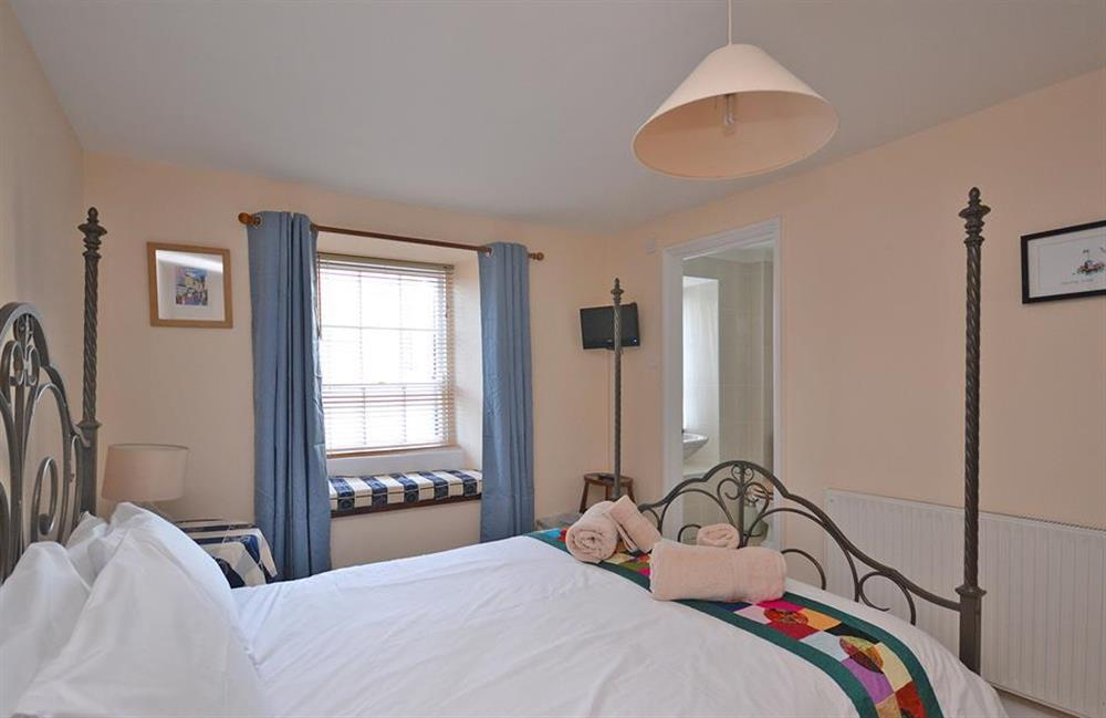 Another view of the master bedroom at Grants Cottage, Dartmouth