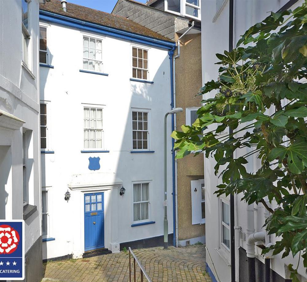 Grants Cottage is a grade II listed property at Grants Cottage, Dartmouth