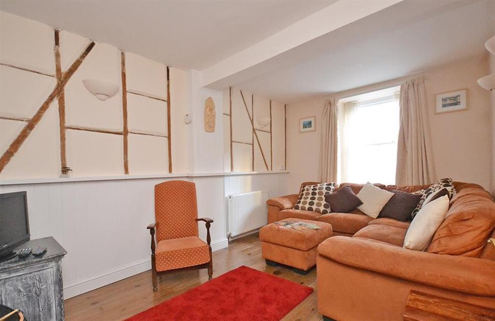 The sitting room at Grants Cottage, Dartmouth