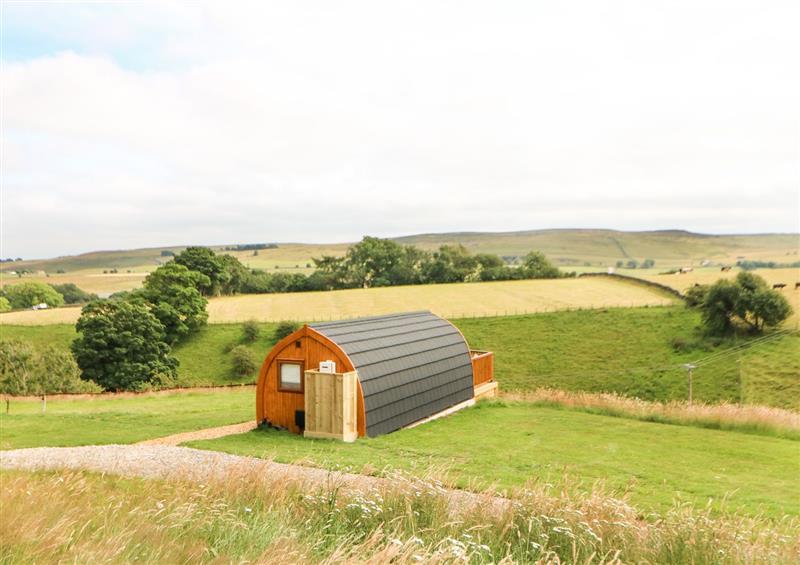Rural landscape at Grassholme Glamping Pod, Bowbank near Middleton-In-Teesdale