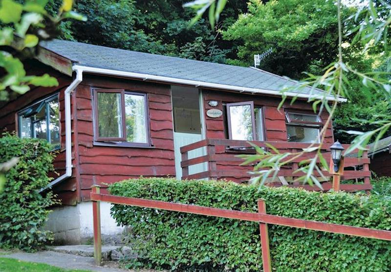 Woolacombe Lodge at Grattons Cedar Lodges in Devon, South West of England