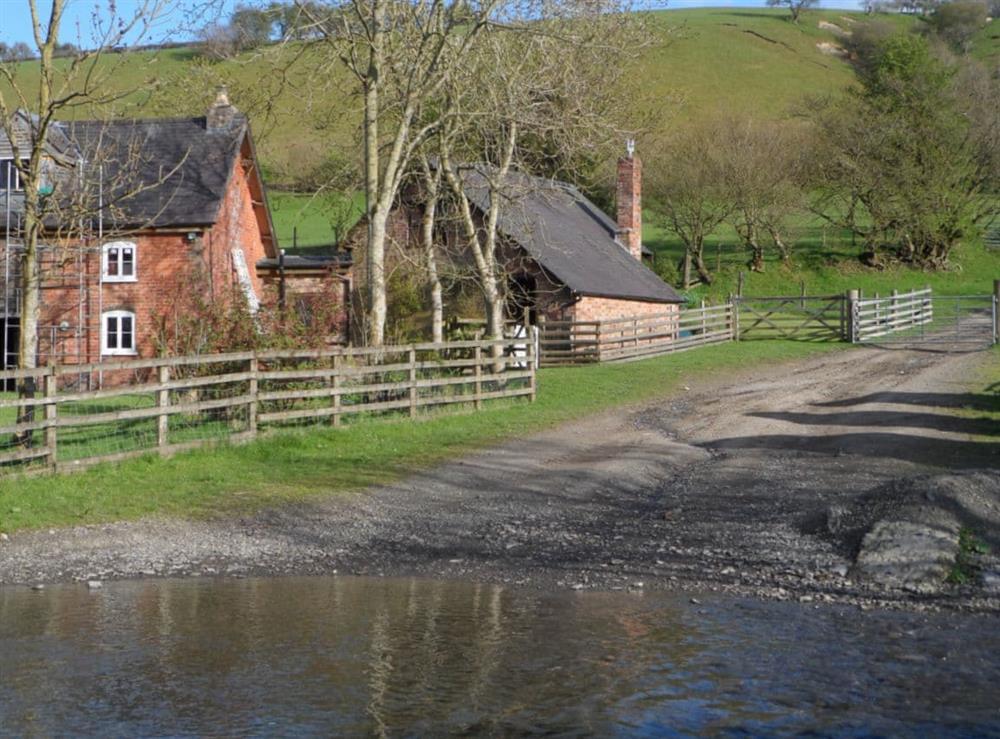 Exterior at Great Cantal Granary in Llanbister, near Llandrindod Wells, Powys