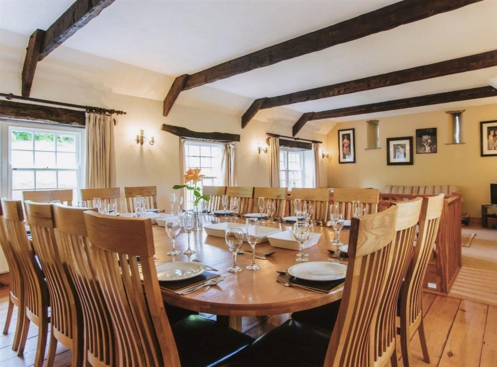 Main House - dining room at Great Horner in Halwell, near Totnes, Devon