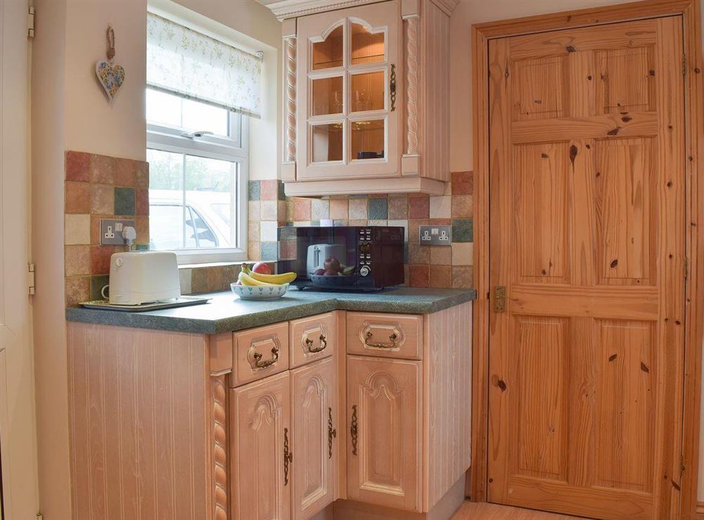 Lovely kitchen at Grebe Cottage in West Somerton, near Winterton-on-Sea, Norfolk, England