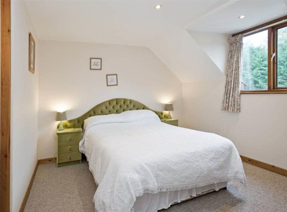 Double bedroom at Grebe in Wayford Bridge, near Stalham, Norfolk