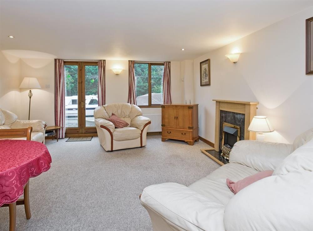 Open plan living/dining room/kitchen at Grebe in Wayford Bridge, near Stalham, Norfolk