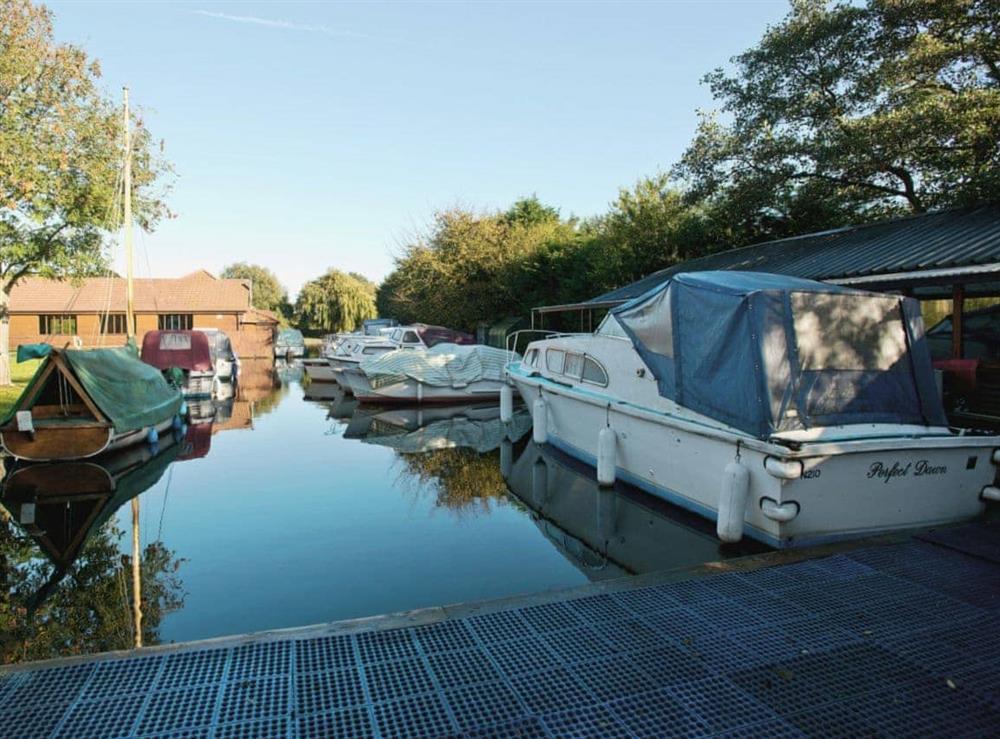 Surrounding area at Grebe in Wayford Bridge, near Stalham, Norfolk