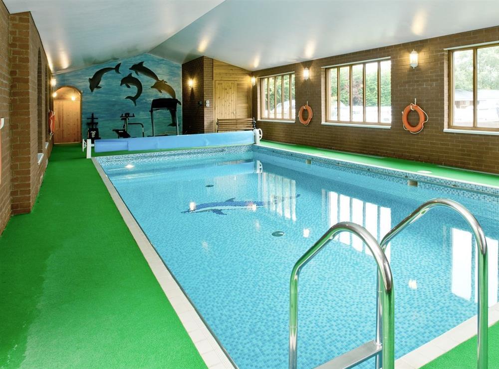 Swimming pool at Grebe in Wayford Bridge, near Stalham, Norfolk