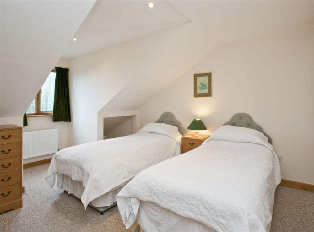 Twin bedroom at Grebe in Wayford Bridge, near Stalham, Norfolk