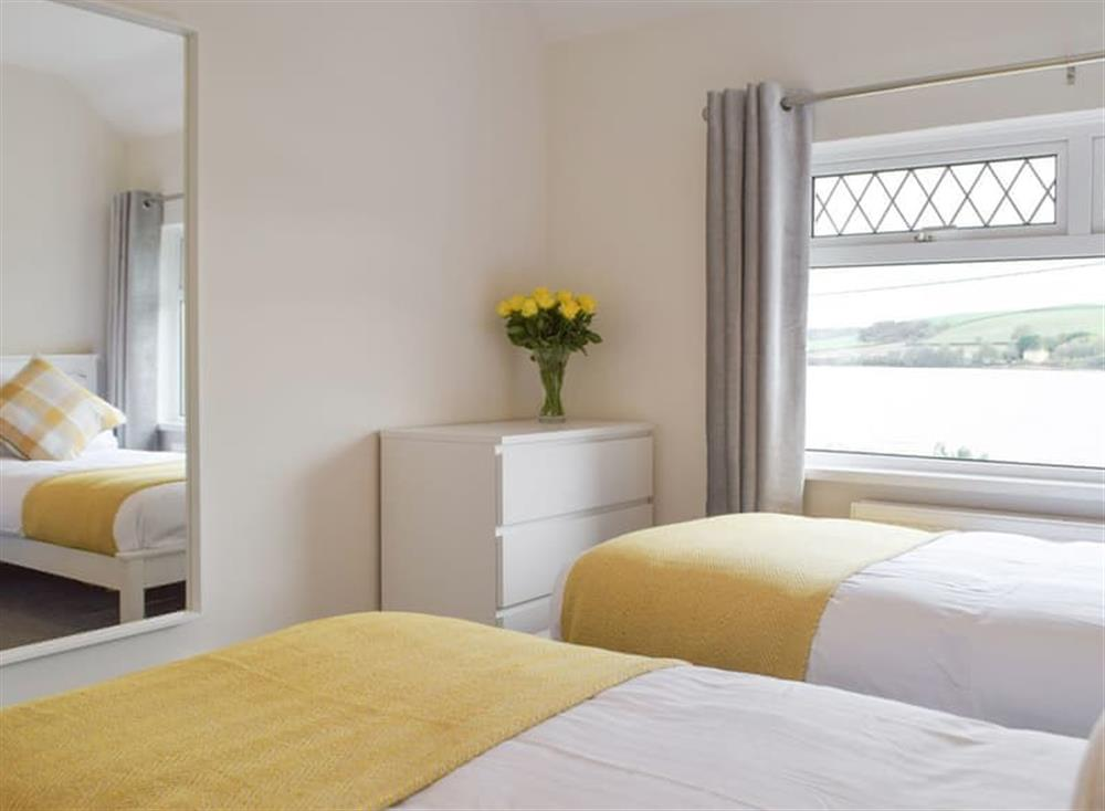 Comfortable twin bedroom at Green Acres in St Dogmaels, near Cardigan, Cardigan, Dyfed