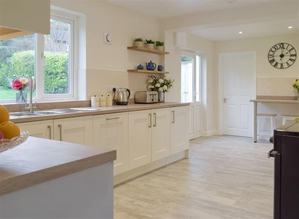 Comprehensively equipped kitchen at Green Acres in St Dogmaels, near Cardigan, Cardigan, Dyfed