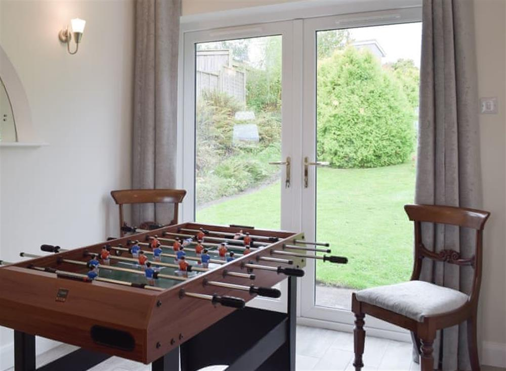 Entertaining Games area at Green Acres in St Dogmaels, near Cardigan, Cardigan, Dyfed