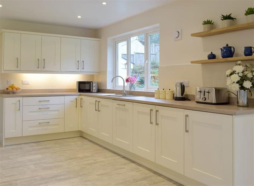 Fully appointed fitted kitchen at Green Acres in St Dogmaels, near Cardigan, Cardigan, Dyfed