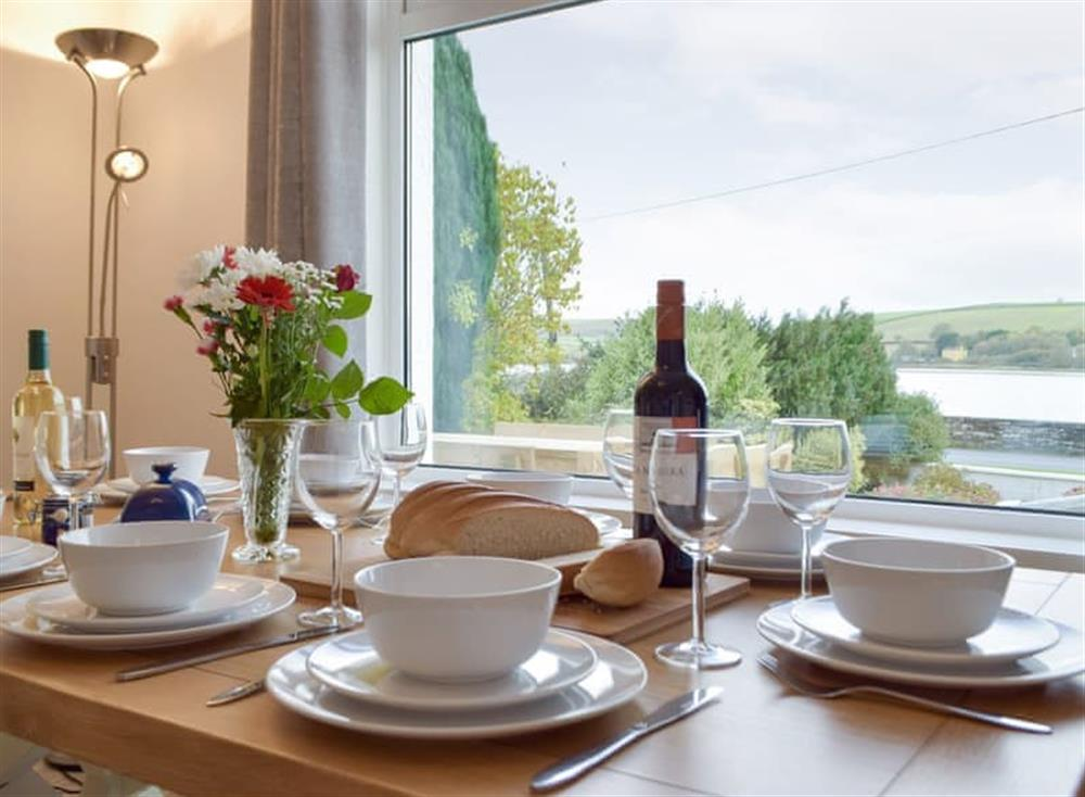 Light and airy dining space at Green Acres in St Dogmaels, near Cardigan, Cardigan, Dyfed