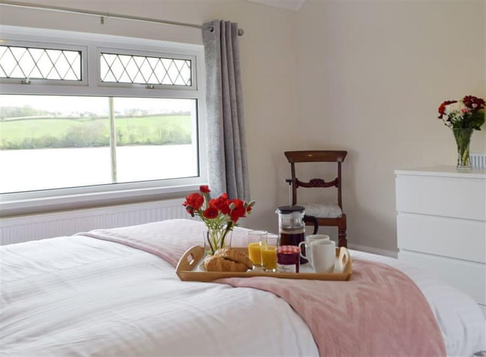 Peaceful first floor double bedroom at Green Acres in St Dogmaels, near Cardigan, Cardigan, Dyfed