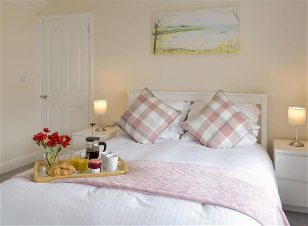 Relaxing first floor double bedroom at Green Acres in St Dogmaels, near Cardigan, Cardigan, Dyfed