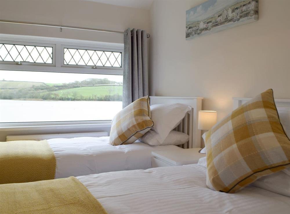 Stylish twin bedroom at Green Acres in St Dogmaels, near Cardigan, Cardigan, Dyfed