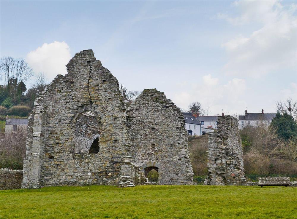 St Dogmaels Abbey at Green Meadow in St Dogmaels, near Cardigan, Dyfed