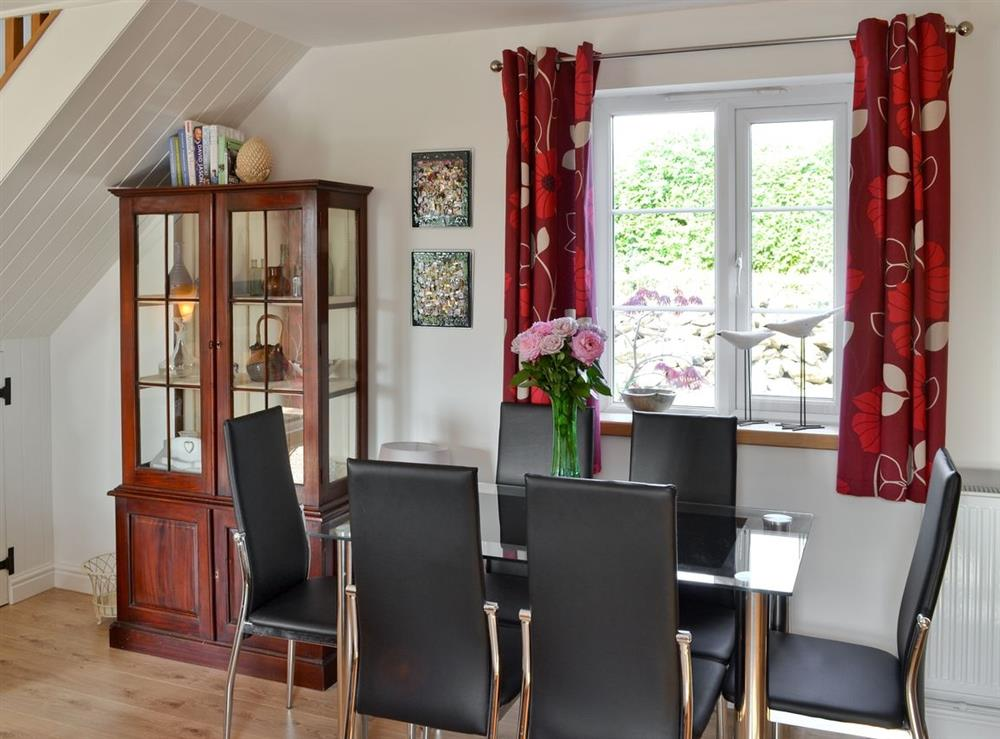 Dining Area at Green Oak Cottage in Sandley, near Gillingham, Dorset