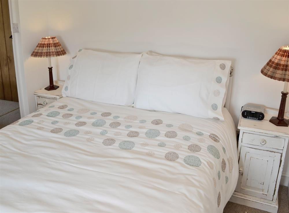 Double bedroom at Green Oak Cottage in Sandley, near Gillingham, Dorset
